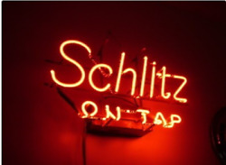 Amy Schlitz On Tap Logo Neon Light Sign 17x14 Beer Cave Gift Lamp Bar