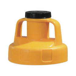 Oil Safe 100209 Utility Lidw/2 In Outlethdpeyellow