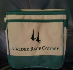 New Calder Race Course Insulated 10x10x6 Lunch Bag Florida Horse Racing