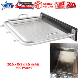 Pit Boss 76226 Stainless Steel Serving Tray Side Shelf For Pit Boss 700 820