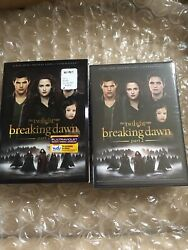 The Twilight Saga Breaking Dawn, Part 2 Dvd With Slipcover