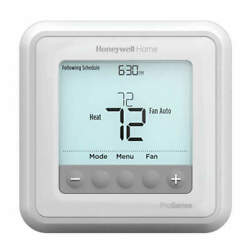 Honeywell Home Th6220u2000/u Low Voltage Thermostat,stages Heat 2