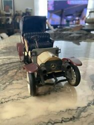 Rare Collections That Are Difficult To Obtain Mercedes Benz Antique Tin Minicar