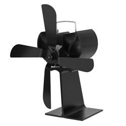Middle Size Heat Powered Wood Log Fireplace Stove Fan Air Blower