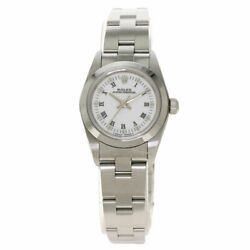 Rolex Oyster Perpetual Watches 76080 Stainless Steel/stainless Steel Ladies