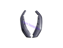 M Performance Style Carbon Bumper Add-ons Canards Lips Brackets Bмw 5 G30 2 Pcs.