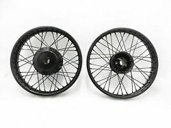 Royal Enfield Classic Best Quality C5 Uce 19 And 18 Wheel Rim Set Powder Coated