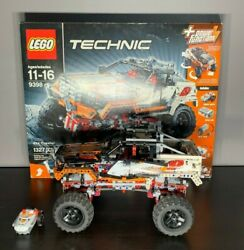 Lego Technic 4x4 Crawler 9398 Power Functions Working With Box And Instructions