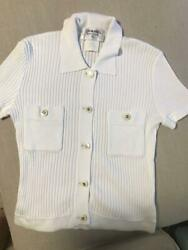 Vintage Short-sleeved Button Top From Japan Fedex No.185