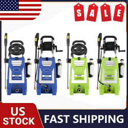 3800psi 3.0gpm Electric Pressure Washer High Power Cleaner Machine Home Us