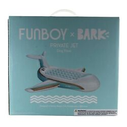Funboy Bark Private Jet Plane Dog Float - Pool Float For Dogs New In Box