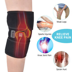 Electric Heating Knee Joint Pad Vibration Massage Legs Massager Reduce Pain