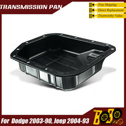 Transmission Oil Pan With Drain Plug For Jeep Grand Cherokee 1993-2004 42re 44re