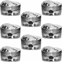 Manley 697630-8 Big Block Chevy Hollow Dome Pistons