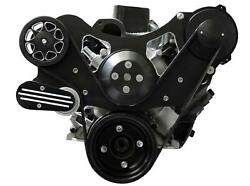 All American Billet Fds-sbf-204 Serpentine Belt Front Drive System Small Block F