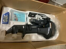 Yamaha T9.9 Lpb Outboard Engine 20andrdquo Shaft - 0 Hours - Under Warranty