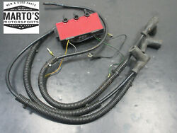 Oem 1996-1998 Polaris Sltx 1050 Sl 900 Slxh 1050 Ignition Coil And Wires W/ Boots
