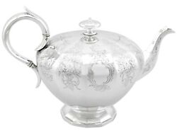 Sterling Silver Teapot Antique Victorian