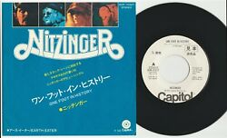 Nitzinger And039one Foot In Historyand039 1971 Japanese Promotional 7 Vinyl