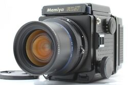 [mint] Mamiya Rz67 Pro And Sekor Z 50mm F/4.5 W And 120 Film Back W/cap From Japan