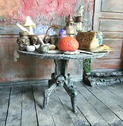 Miniature Magic Table Witch Dollhouse 1/12 Haunted Miniatures Gothic Halloween