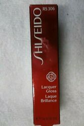 Shiseido Lacquer Gloss Rs 306, Full Size New In Box