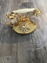 Teleconcepts Countess Vintage Corded Phone Rotary Phone