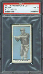 1911 E100 Bishop And Co. Bill Rapps Psa 2 Portland Beavers Pcl