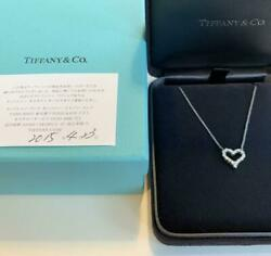 And Co. Sentimental Diamond Necklace Free Shipping No.1835