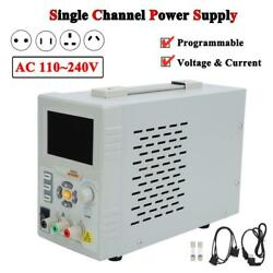 Sp6053 Programmable Single Channel Dc Power Supply Voltage And Current Ac 110240v