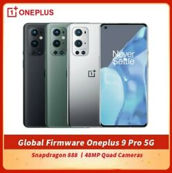 Oneplus 9 Pro 5g Smartphone Le2120 Factory Unlocked 6.7 Snapdragon 888 50mp