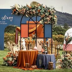 Stage Wedding Flowers Arch Backdrops Screen Metal Props Wrought Iron Decorations