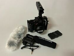 Sony A7sii With Case Smallrig And Audio Technica Camera Mount Microphone