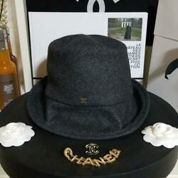 CHANEL Bucket Hat for Women AW Pre Collection Tweed Gray Black Glitter 732 MN $2559.99