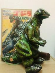 Godzilla Tin Toys At That Time Fully Functional Showa Retro Made In Japan Used