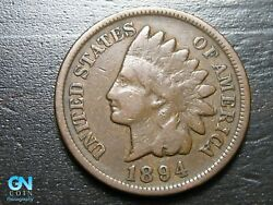 1894 Indian Head Cent Penny -- Make Us An Offer K1568