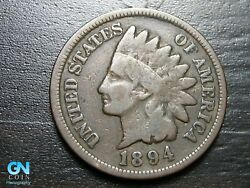 1894 Indian Head Cent Penny -- Make Us An Offer K1571