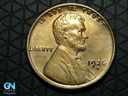 1926 D Lincoln Cent Wheat Penny -- Make Us An Offer K6630