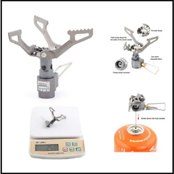 BRS 3000T Stove Ultralight Backpacking Stove Titanium Camping Stove $21.19