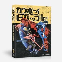 Cowboy Bebop The Complete Series New Dvd Set Free Shipping