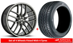 Alloy Wheels And Tyres Wider Rears 20 Bbs Cc-r Bmw 6 Series [f12]