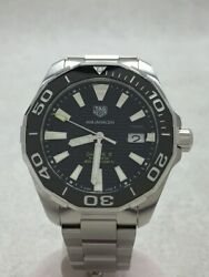 Tagheuer Automatic Watch /-/-/blk/slv