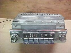 57 1957 Ford Fairlane Sunliner Skyliner Pb Am Town And Country Radio - Plays Good