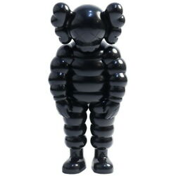 Kaws Cowes Medicom Toy What Party Figure Black Size Free
