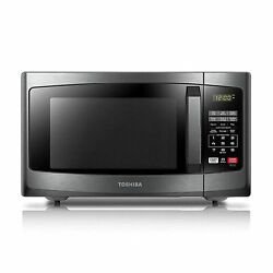 Toshiba Em925a5a-bs Microwave Oven With Sound On/off Eco Mode And Led Light…