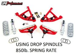 82-03 Chevrolet S10 Gmc S15 Sonoma Umi Competition Front End Kit Red 3059-4-r
