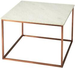Cocktail Table Modern Contemporary White Bronze Distressed Black Brass Cre