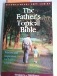 The Father's Topical Bible New International Version Inspirational Gift Serie
