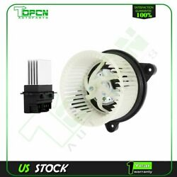 Blower Motor And Resistor Front Fit For 2004 2005 2006 2007-2009 Dodge Durango