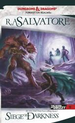 The Legend Of Drizzt Ser. Siege Of Darkness The Legend Of Drizzt Book Ix...